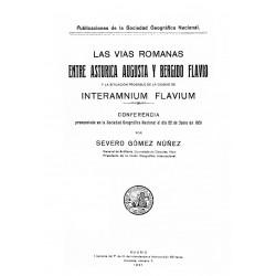 Las vías romanas entre Astúrica Augusta y Bergido Flavio y la situación probable de la ciudad de Interamnium Flavium