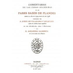 Comentarios de las cosas sucedidas en los Paises Baxos de Flandes desde el año 1594 gasta el de 1598