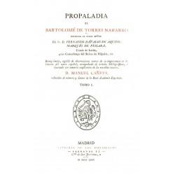 Propaladia de Bartolomé Torres Naharro tomo 1