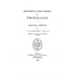Propaladia de Bartolomé Torres Naharro tomo 2