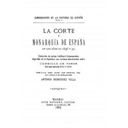 La Corte y Monarquia de España en los años 1636 y 1637