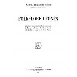 Folk-lore leonés