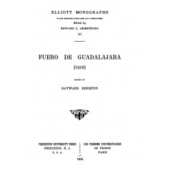 Fuero de Guadalajara ( 1219)