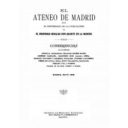 III Centenario de la publicación del ingenioso hidalgo Don Quijote de la Mancha