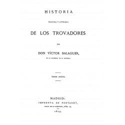 Historia Política y literaria de los trovadores