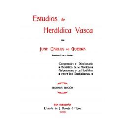 Estudios de Heráldica vasca.