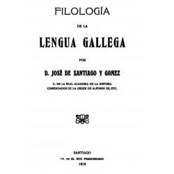 Filología de la lengua gallega