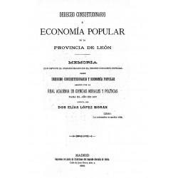Derecho consuetudinario y economía popular de la provincia de León