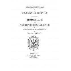 Curiosidades Bibliográficas y Homenaje  del Cuarto Centenario del Descubrimiento de América