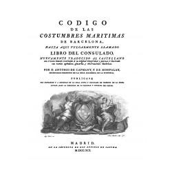 Código de las costumbres marítimas de Barcelona
