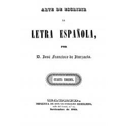 Arte de escribir letra bastarda española
