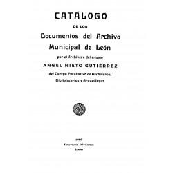 Catálogo de los documentos del Archivo Municipal de Leòn