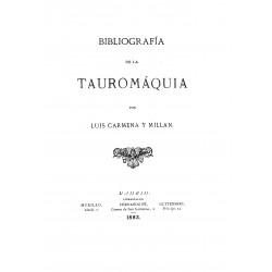 Bibliografía de la Tauromaquía