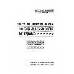 Silueta del Almirante de Castilla Don Alfonso Jofre de Tenorio
