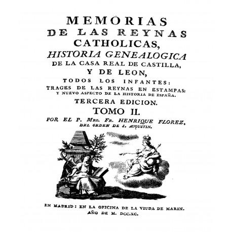 Memorias de las reinas catholicas