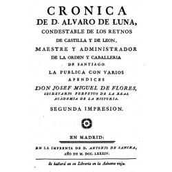 Cronica de Don Alvaro de Luna