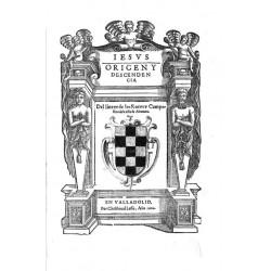 Origen y descendencia del linage de Los Rocas y Campofrios de la villa de Alcantara
