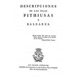 Descripciones de las Islas Pithiusas y Baleares