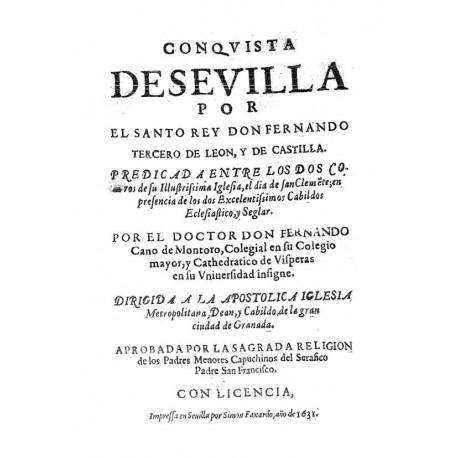 Conquista de Sevilla por el santo rey Don Fernando