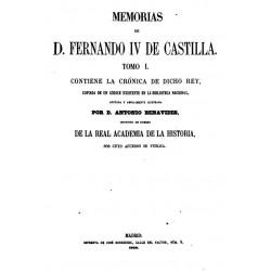 Memorias de Fernando IV de Castilla