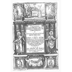 Catalogo de los obispos de las iglesias catedrales de la Diocesis de Jaen y anales eclesiasticos desde obispado