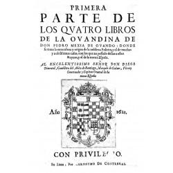 Primera parte de los cuatro libros de La Ovandina
