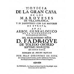 Noticia de la gran casa de los Marqueses de Villafranca