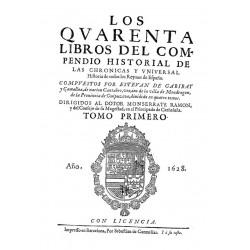 Los quarenta libros del compendio historial