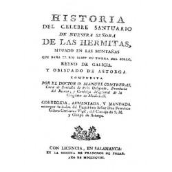 Historia del Santuario de Nuestra Señora de las Hermitass