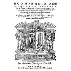 Compendio de algunas Historia de España.Familia de Girones y muchos linajes