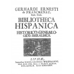BIBLIOTECA HISPANICA HISTORICO GENEALOGICA
