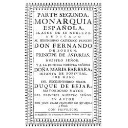 MONARQUIA DE ESPAÑA : BLASON DE SU NOBLEZA