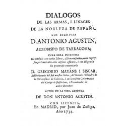 Diálogo de las ramas y linages de la nobleza de España