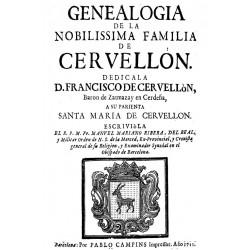 Genealogía de la familia de Cervellón