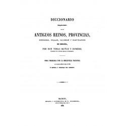 Diccionario bibliográfico-geográfico histórico de España