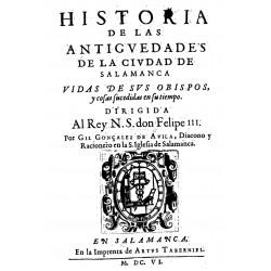 Historia de las antigedades de la ciudad de Salamanca