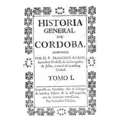 Historia General de Córdoba