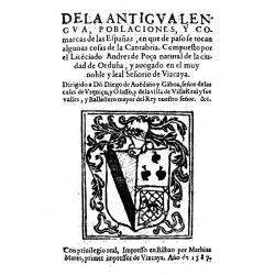 De la antigua lengua, poblaciones, y comarcas de las Españas