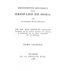 Descripción histórica del Obispado de Osma