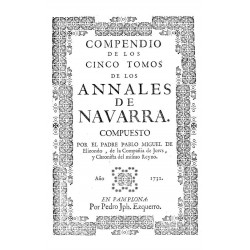 Compendio de los cinco tomos de los Anales de Navarra