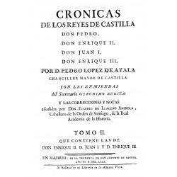 Crónicas de los Reyes de Castilla Don Pedro, Don Enrique II, Don Juan I, Don Enrique III