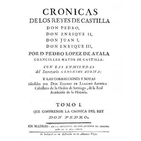 Crónicas de los Reyes de Castilla t1