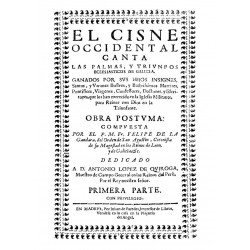 El cisne occidental canta las palmas, y triunfos eclesiásticos de Galicia