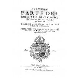 Nobiliario genealógico de los reyes y títulos de España