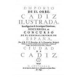 Emporio del orbe, Cadiz ilustrada