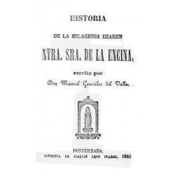 Historia de la milagrosa imagen de Nuestra Señora de la Encina