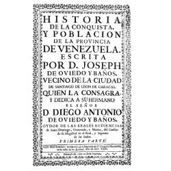 Historia de la conquista y población de la provincia de Venezuela
