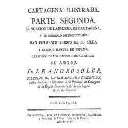 Cartagena de España ilustrada