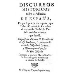 Discursos históricos sobre la población de España