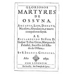 Gloriosos mártires de Ossuna